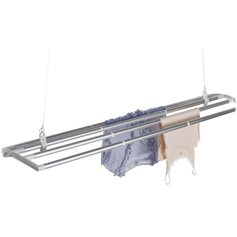 Clothes Drying Ceiling Rack by The Lofti Traditional Indoor Laundry Clothes Drying Rack