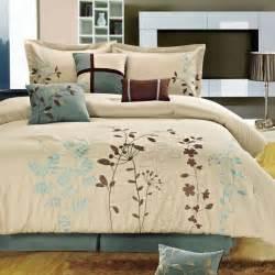 space living bliss garden 8 piece beige comforter set view all