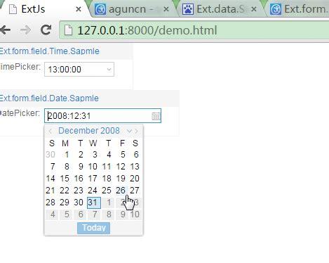 format date extjs extjs之ext form field timepicker datepicker组合框 博客 云栖社区 阿里云