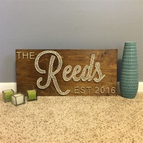 Handmade Wedding Gifts For - 17 best ideas about family established sign on
