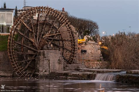 Low Bed noria hama s ancient giant waterwheels