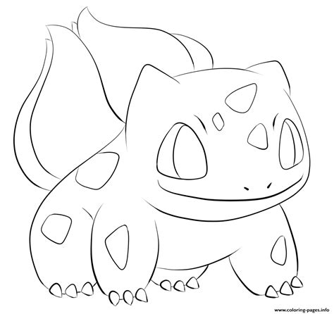 pokemon coloring pages bulbasaur 001 bulbasaur pokemon coloring pages printable