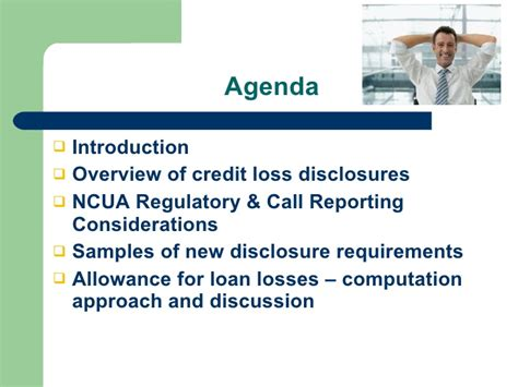 Allowance For Credit Losses Formula aicpa credit union national conference allowance