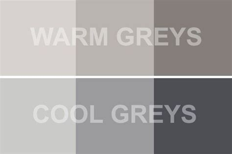 warm gray vs cool gray bring positive results home decor gray warm gray paint