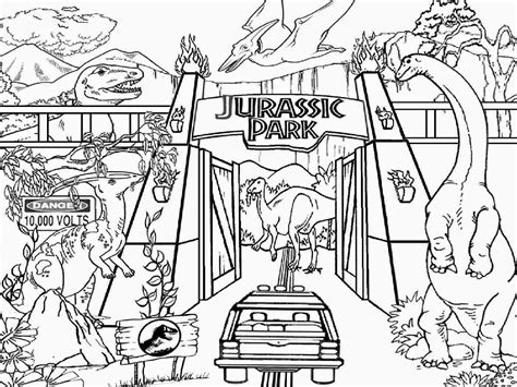 printable coloring pages jurassic world coloring pages dinosaur drawing spinosaurus jurassic park