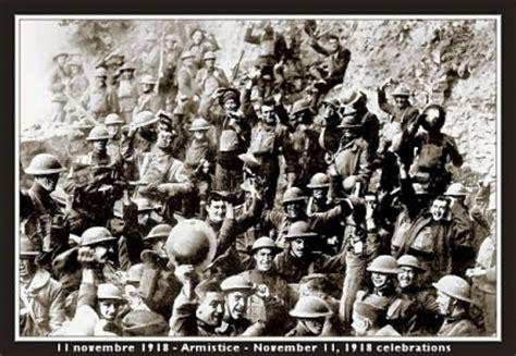 le 11 novembre 1918. l'armistice est signée. 1914 1918