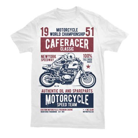 Tshirt Cafe Racer California vector t shirt designs bundle thefancydeal