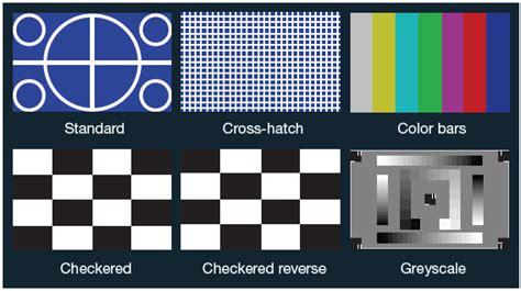 test pattern epson epson powerlite pro z10005unl visionsolutionworks com