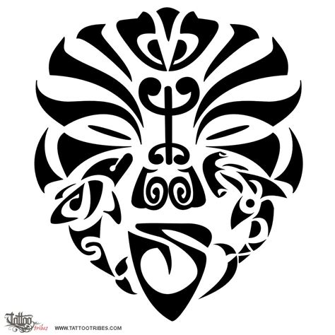 tattoo of warrior mask tenacity friendship tattoo