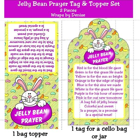 printable jelly bean name tags pin by debbie shollenberger on easter pinterest