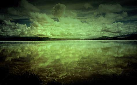 wallpaper schwarz grün ozean cloud forest gr 252 n schwarz hintergrundbilder ozean