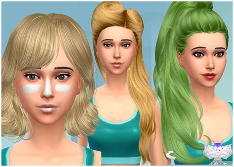 the sims 4 free hair beauty downloads hair beauty my sims 4 blog 11 04 14