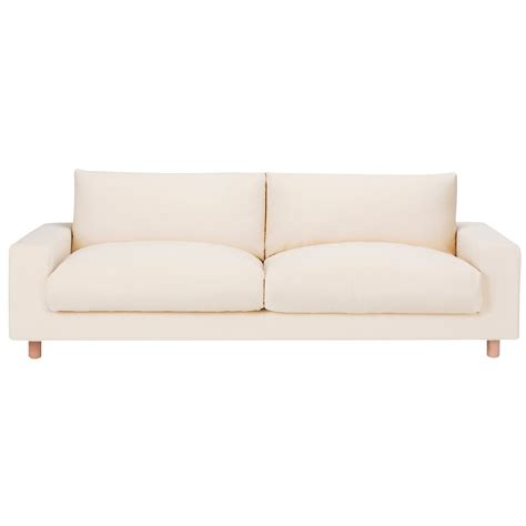 down feather sofa cushions sofa 3s down feather cushion w220 d88 5 h79 5cm muji