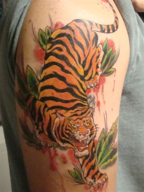 japanese tiger tattoo tiger tattoos designs ideas and meaning tattoos for you