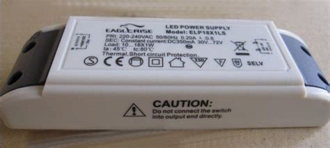 selv power supply free shipping 1 6x3w led driver elp6x3cs semko selv ce