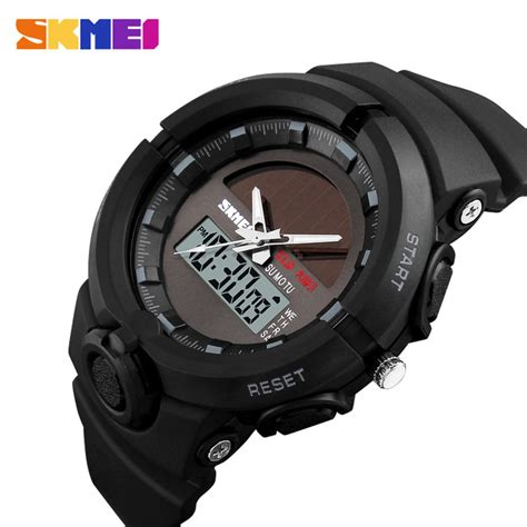 Jam Tangan Pria Suunto Digital Premium skmei jam tangan digital analog pria 1275 black jakartanotebook