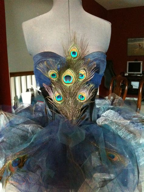 Handmade Peacock Costume - 16 best images about costume lovelies on