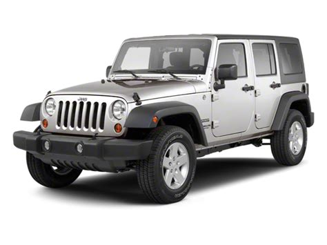 2010 Jeep Wrangler Unlimited 2010 jeep wrangler unlimited values nadaguides