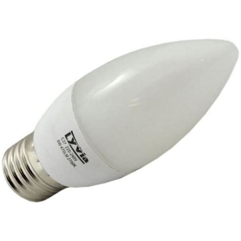 lyveco 6w es e27 candle 2700k non dimmable 3638