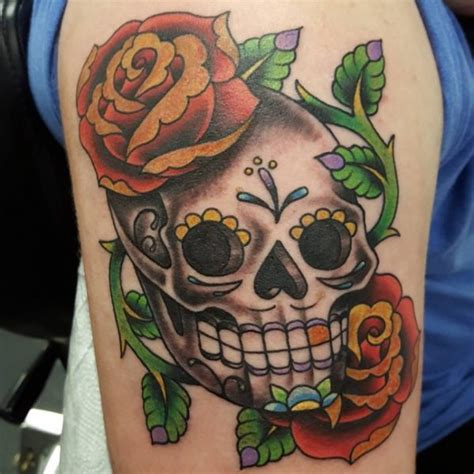 fotos de tatuagem da caveira mexicana fotos de tatuagens