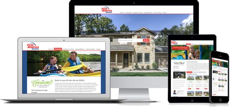 home builder website design development mec designs