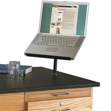 table mounted laptop stand