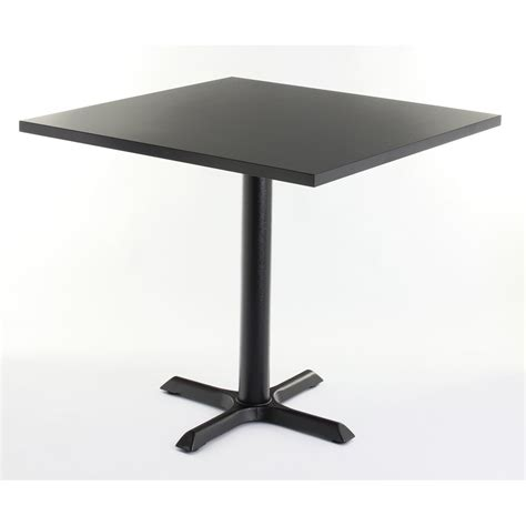 Black Square Dining Table Black Top Square Dining Table From Ultimate Contract Uk