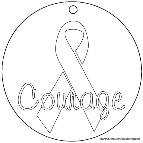 free breast cancer ribbon coloring pages
