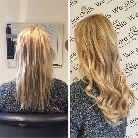 micro bead extensions for thin hair 47 best images about hair extensions by we are dolls on