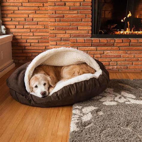 dog cave bed large dog cave bed grey med and large due back in stock end