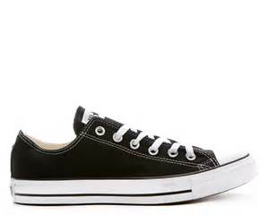 black and white low converse