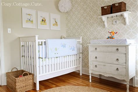 design nursery light and airy nursery design with vintage details