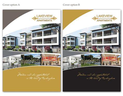 21 Elegant Colorful Apartment Brochure Designs For A Apartment Brochure Design