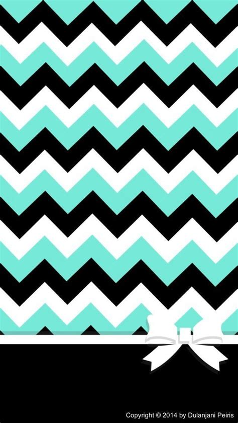 chevron pattern wallpaper for iphone teal black white chevron with a bow chevron