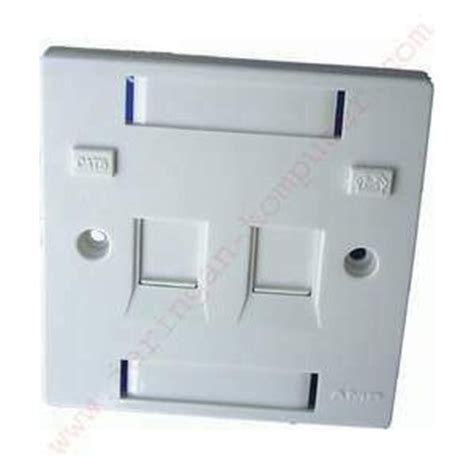Faceplate 2 Bs Faceplate Bs Shuttered 2 Port 0 1859050 1
