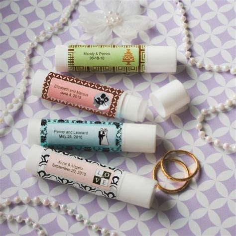 Wedding Favors Lip Balm by Personalized Expressions Collection Lip Balm Favors