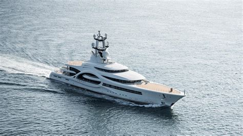 yacht anna 110m feadship superyacht anna undertakes sea trials boat