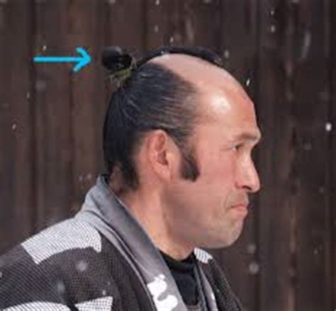 edo period male hairstyles suppose you visited a small less than 250 people