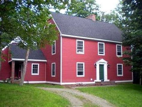 Saltbox House Designs | saltbox style historical house plan