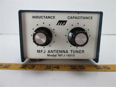 inductance radio mfj antenna tuner model mfj 16010 inductance capacitance cb radio moxee 2nd market