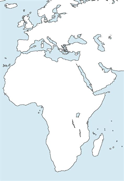 africa physical map 7th grade geography chpcs 6th and 7th resources