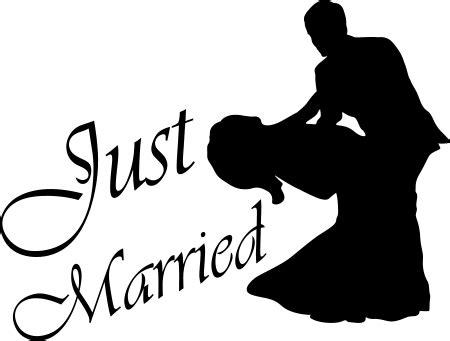 Aufkleber Ringe Hochzeit by 50cm Just Married Hochzeit Heiraten Ringe Autoaufkleber