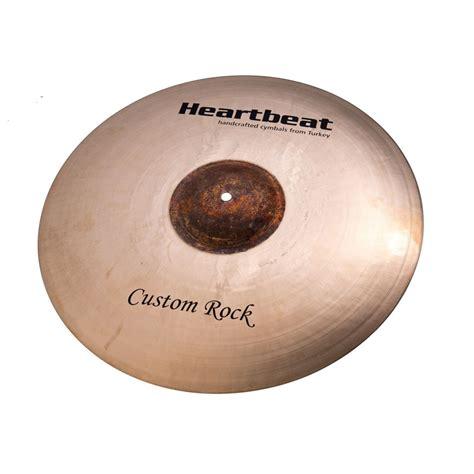 Handmade Cymbals - custom rock ride cymbals heartbeat worship