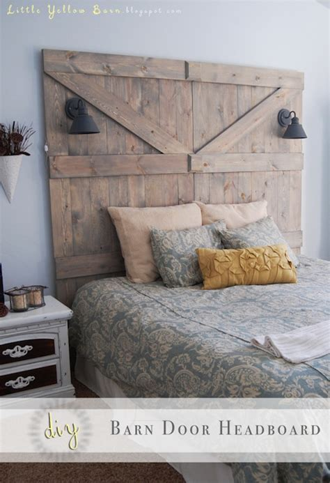 How To Make A Door Headboard by 15 Do It Yourself Project Tutorials And Tips Home