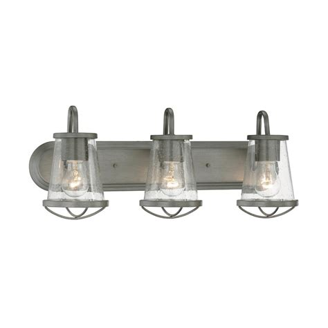 home depot bath bar lighting designers darby 3 light weathered iron bath bar