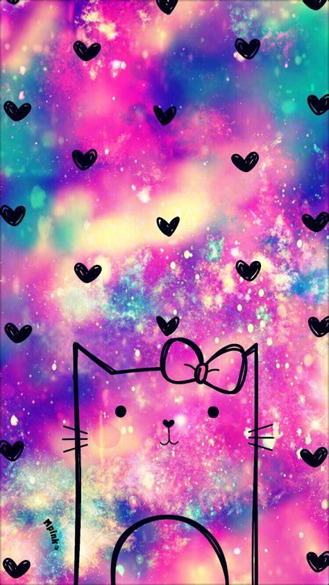galaxy wallpaper kawaii kawaii kitty galaxy wallpaper ᗯᗩᒪᒪᑭᗩᑭeᖇ ᑕᖇeᗩtioᑎᔕ
