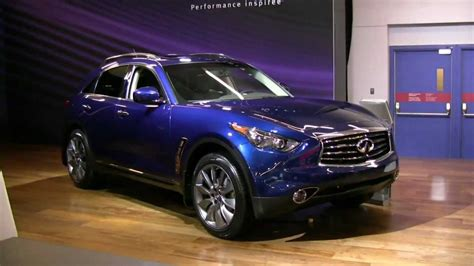 Infinity Auto Fx35 by 2012 Infiniti Fx35 Exterior And Interior At 2012 Montreal