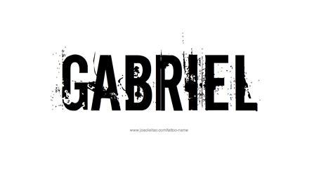 gabriel tattoo gabriel name designs gabriel designs and