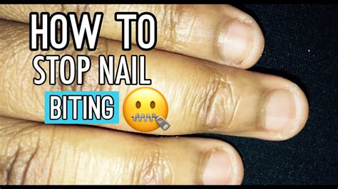 Quit The Nail Biting Habit by How To Stop Nail Biting Tips To The Habit Pj
