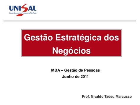 Mba Gestão De Ti by Curso De Estrat 233 Corporativa 2011 Parte I